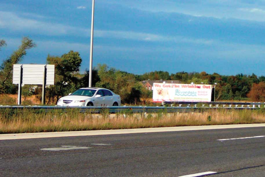 Billboard at North side of I-80 1000 FT. East of Ridgeland Ave.